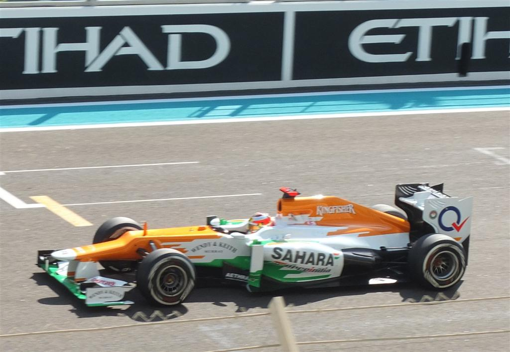 Jules Bianchi in Force India