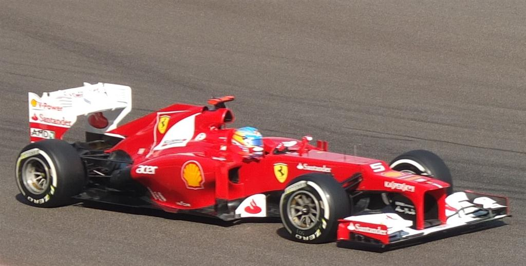 Fernando Alonso in FP3