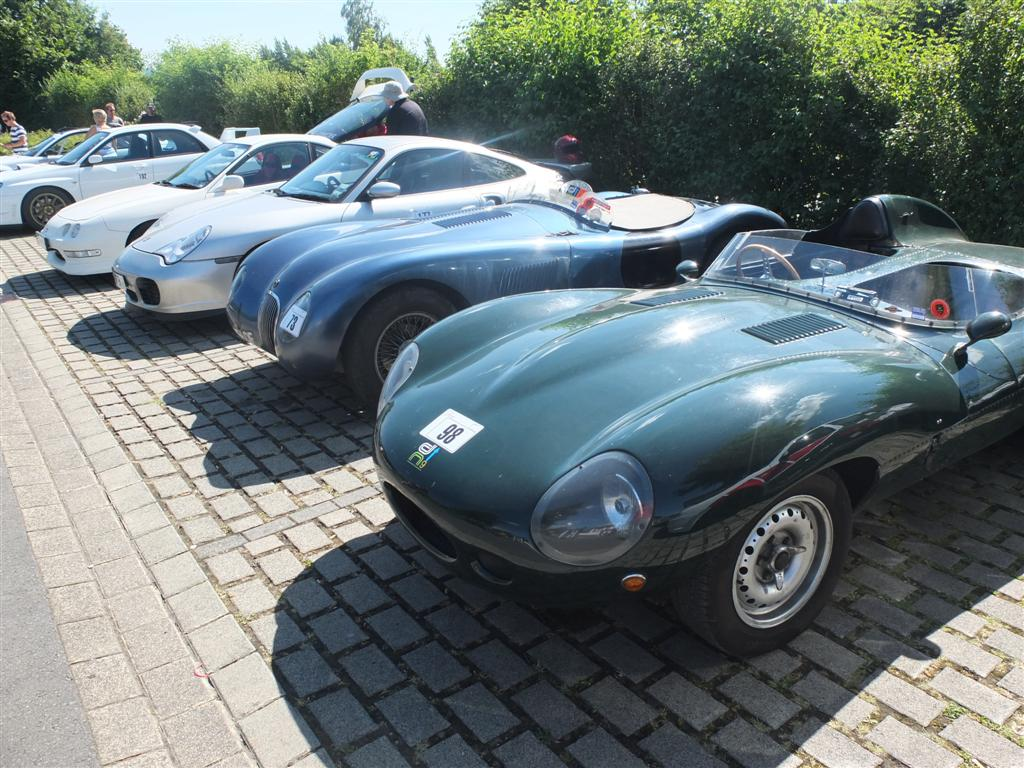 Team Moo-Moo with C/D-Type replicas