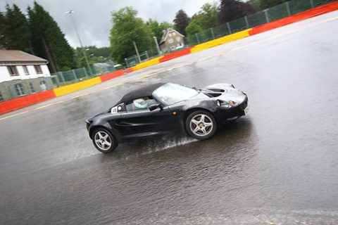 Lotus Elise at Spa by Matt Sayle